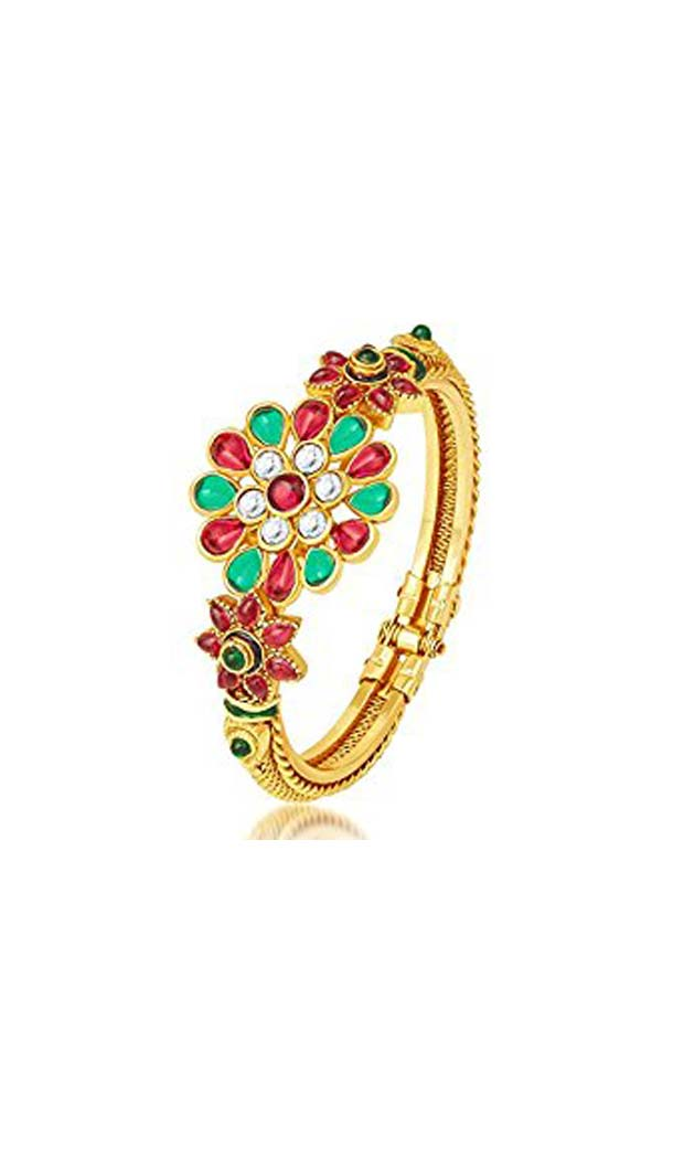 Beautiful Gold Artificial Bangles | FH567784342