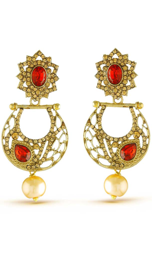 New Look Gold Artificial Jewellery Earrings for Women | FH573885041