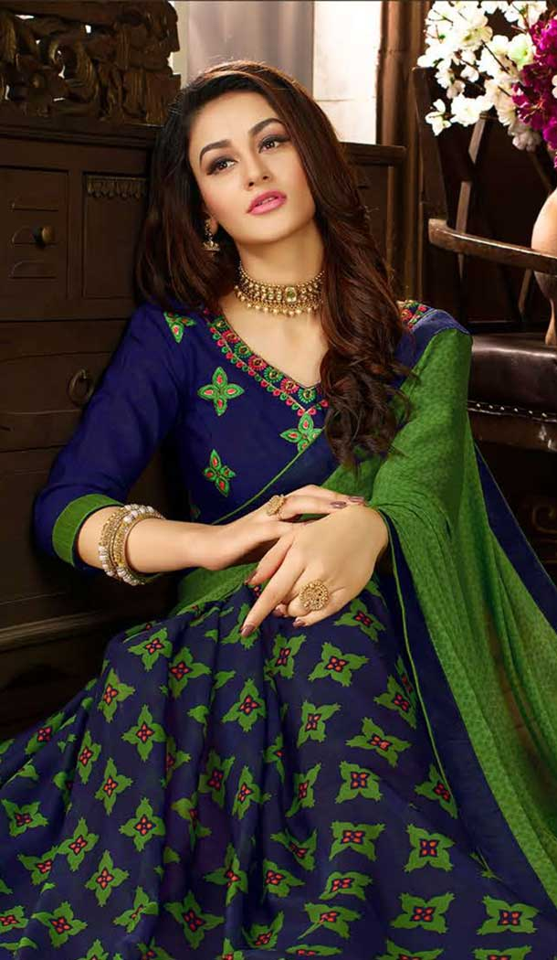 Adorable Green Color Rangoli Georgette Saree | 361542941