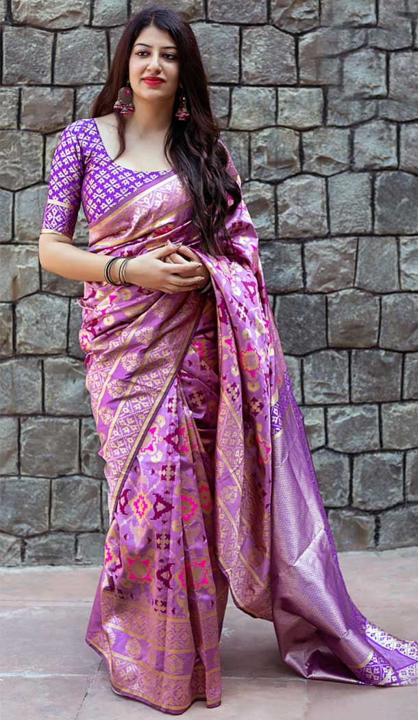 Banarasi saree new design | Banarasi Patola Silk Saree | 373344591