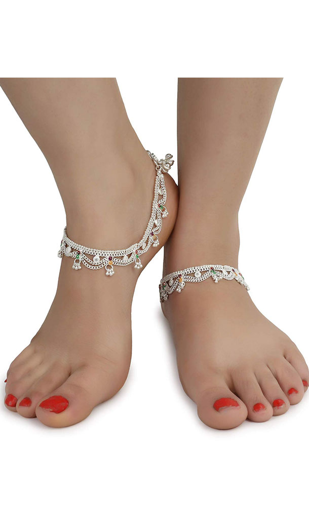 Trendy Designs Artificial Anklet Pairs for Woman and Girl -FHA5074
