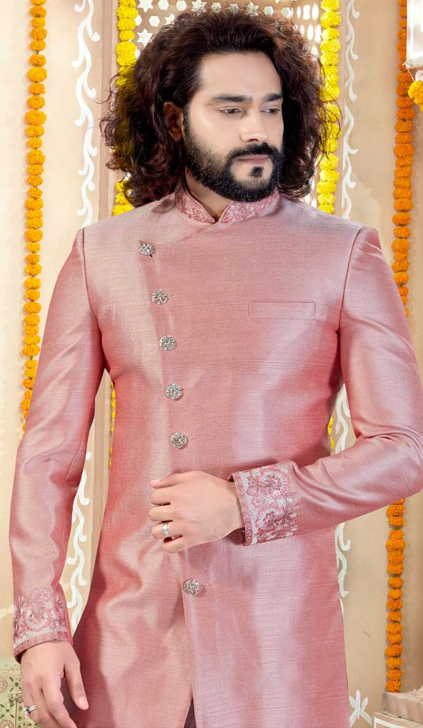 indo western sherwani for marriage reception