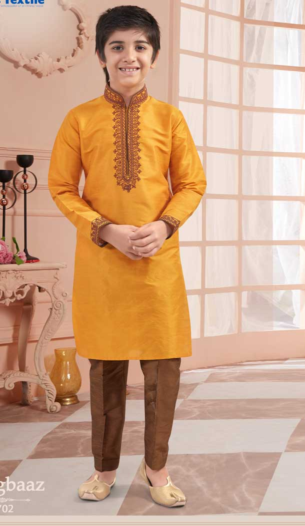 kid boy kurta pajama design 2020 online -VOL171702