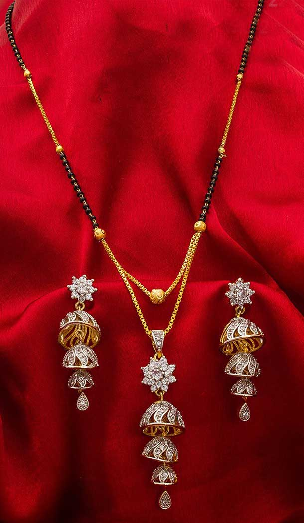Attractive Love Pendant Alloy Imitation Mangalsutra -706387893