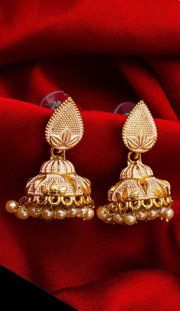Fascinating Gold Color Alloy Imitation Fashion Earring -758393567