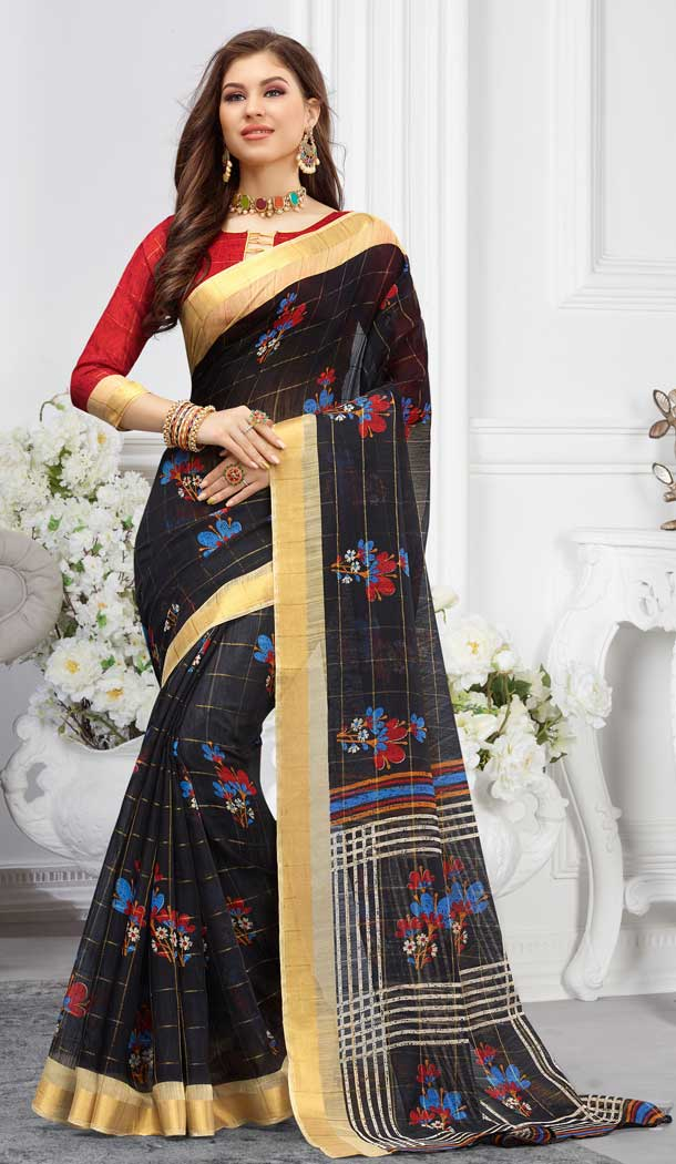 digital printed casual sarees online shopping -747092340