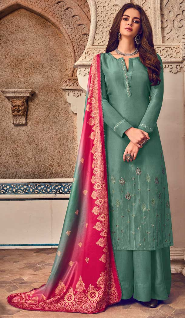eid latest fancy embroidery dresses -796497259