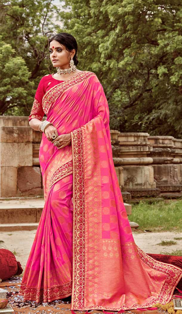 designer wedding saree collection with price in india -77837633
