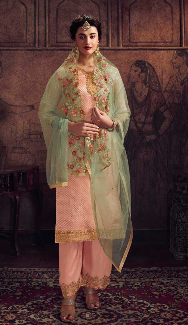 party wear georgette salwar suit with price -8537102914