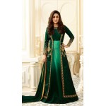 Kareena Kapoor Green Georgette Long Salwar Kameez | FHK13275480