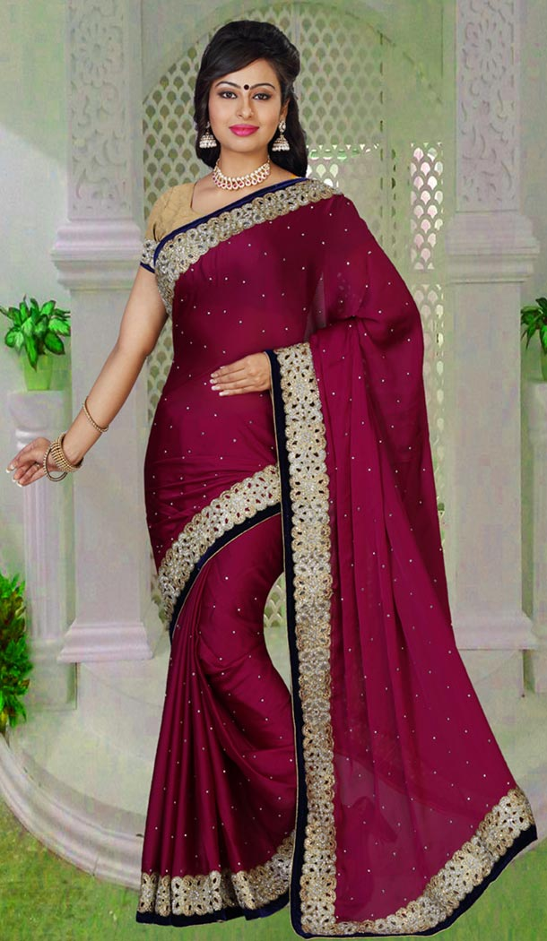Designer sarees makes you look beautiful with its newest style and designs